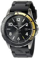 Rip Curl Men's A2815-GUN Raglan Analog Display Analog Quartz Black Watch