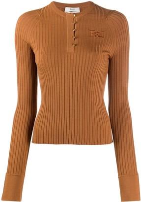 Bally Long Sleeve Buttoned Sweatshirt