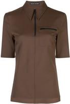 Kwaidan Editions zipped polo shirt