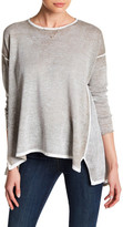 Cullen Mesh Side Draped Shirt