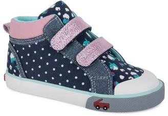 See Kai Run Little Girl's & Girl's Kya High-Top Sneakers