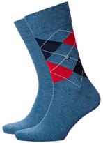 Burlington Light Denim Socks, One Size, Pack Of 2, Light Denim