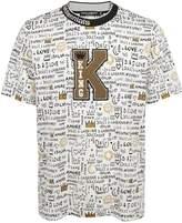 Dolce & Gabbana King Patch T-shirt