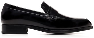 Givenchy Patent Logo Loafers