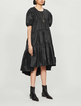 Cecilie Bahnsen Tiered shell dress