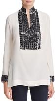 Tory Burch Silk Sequin Tunic