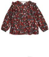 Burberry 'Abril' Floral Top (Toddler Girls, Little Girls & Big Girls)