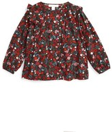Burberry Girl's 'Abril' Floral Top