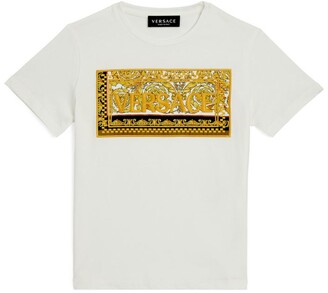 Versace Kids Baroque Print T-Shirt (4-14 Years)