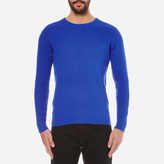 Gant Men's Cotton Texture Crew Knitted Jumper