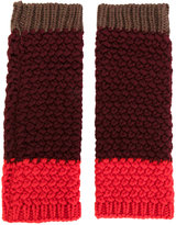 Etro knitted gloves - women - Wool - One Size