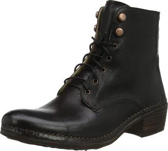 Neosens Women's S3076 Dakota Black/Medoc Ankle Boots