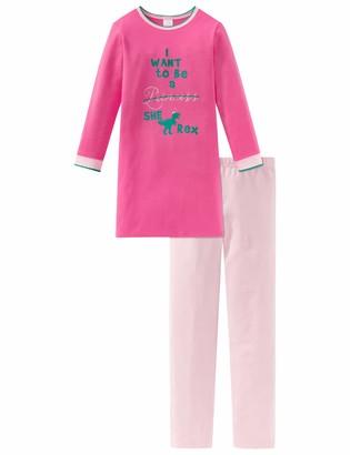 Schiesser Girls' Md Anzug Lang Pyjama Sets