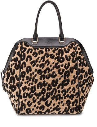 Louis Vuitton 2012 pre-owned Limited Edition leopard tote