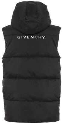 Givenchy Logo hooded vest