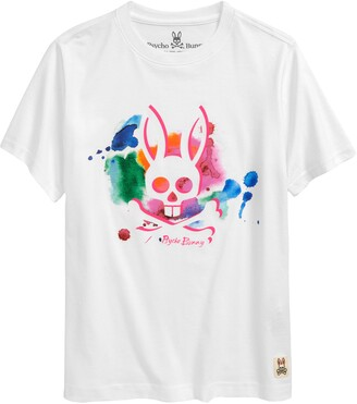 Psycho Bunny Kids' Gratton Graphic Tee