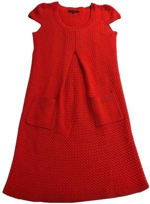 Tara Jarmon Red Wool Dress for Women