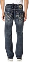 Rock Revival Men's Elber J200 Straight Cut Jeans