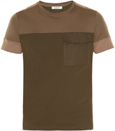 Valentino Contrast-panels short-sleeved T-shirt