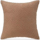 """Waterford Home Margot Persimmon 14"""" Square Decorative Pillow"""