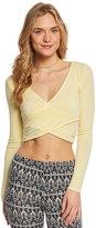 Alo Yoga Amelia Long Sleeve Yoga Crop Top 8136583