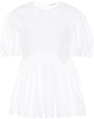 Cecilie Bahnsen Mie cotton poplin blouse