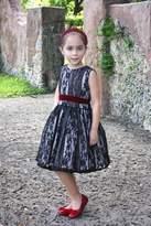 Mademoiselle Charlotte Black Lace Dress
