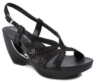 Andrew Geller Aaliyah Wedge Sandal