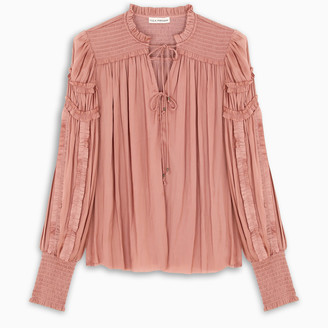 Ulla Johnson Copper Fernanda blouse