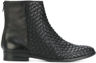 The Last Conspiracy Woven Ankle Boots