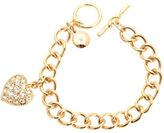 Jones New York Boxed Bracelet With Pave Heart Charm