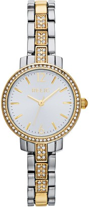 Relic by Fossil Women's Reagan Two Tone Watch