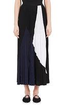 Proenza Schouler Women's Pleated Colorblocked Midi-Skirt