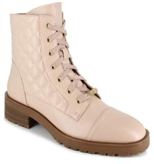 Nanette Lepore Nanette Idalia Combat Boots Women's Shoes