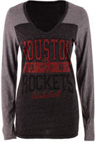 5th & Ocean Women's Houston Rockets Dunk Long-Sleeve T-Shirt