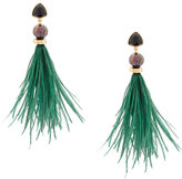 Lizzie Fortunato Parker feather earrings