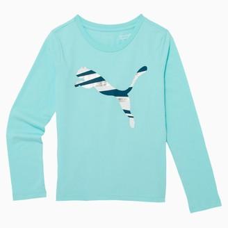 Puma No.1 Logo Little Kids' Long Sleeve Fashion Tee