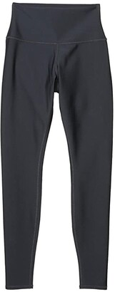 Alo High Waist Airlift Leggings (Anthracite) Women's Casual Pants