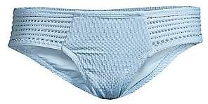 Robin Piccone Women's Perla Crochet Bikini Bottoms