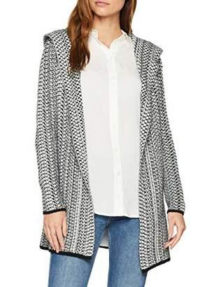 S'Oliver Women's 14.811.64.6660 Cardigan, (Silver Grey Melange Knit 97x0), 8 (Size: )