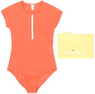 Miska Paris TEEN short sleeve swimsuit