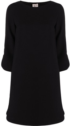 L'Autre Chose Boat-Neck Shift Dress