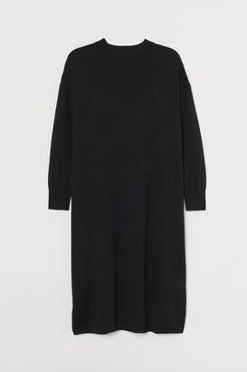 H&M H&M+ Fine-knit dress