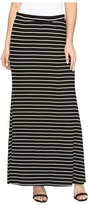Karen Kane Side Slit Maxi Skirt