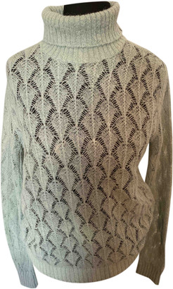 Ermanno Scervino Green Wool Knitwear