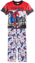 Spiderman 2-Pc. Hero Pajama Set, Little Boys (2-7) & Big Boys (8-20)