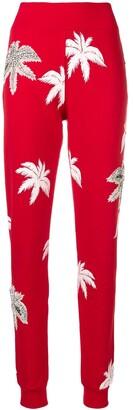 Philipp Plein Printed Slim Trousers