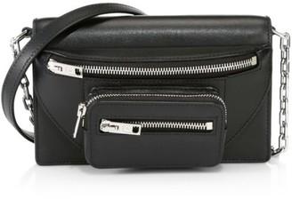 Alexander Wang Small Attica Leather Multi-Zip Crossbody Bag