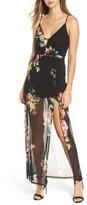 Lush Women's Floral Maxi Dress