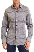 Robert Graham Landmass Classic Fit Woven Shirt.